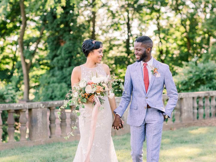 A Parisian elopement at Tyler Gardens shot by Stacy Hart Photography.