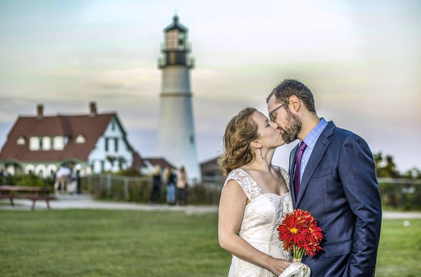 Portland Head Light Kiss