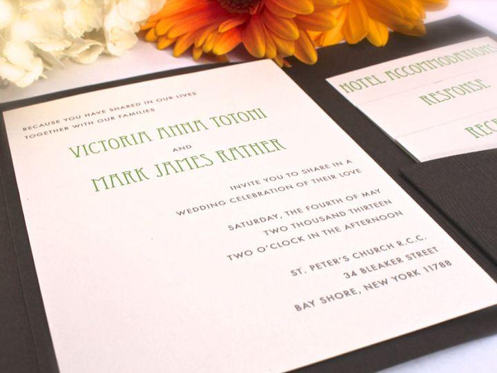 Tmx 1381457559159 Screen Shot 2013 10 10 At 8.26.25 Pm Nesconset wedding invitation