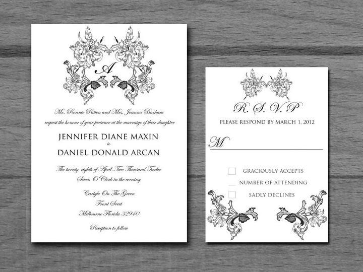 Tmx 1381457579685 Screen Shot 2013 10 10 At 9.59.14 Pm Nesconset wedding invitation