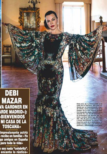Debi Mazar for Hola Mag