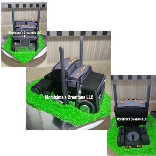 Truck fan cake