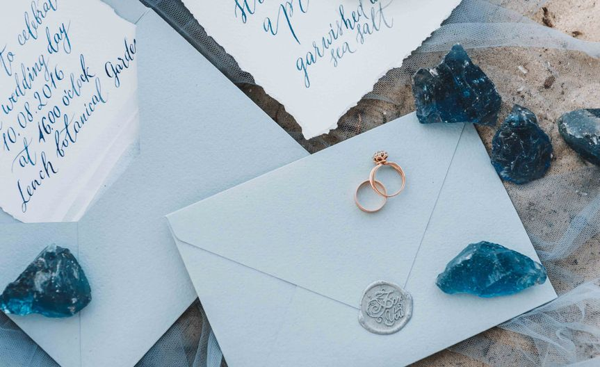 Rings and stationery