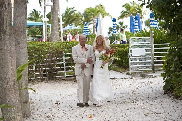 Tmx 1322755357805 BridebeingescortedbyherfathertotheceremonyattheButterflygarden Fort Myers Beach wedding venue