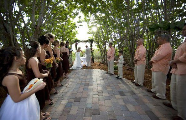 Tmx 1322755589508 ButterflyGardenCeremony3 Fort Myers Beach wedding venue