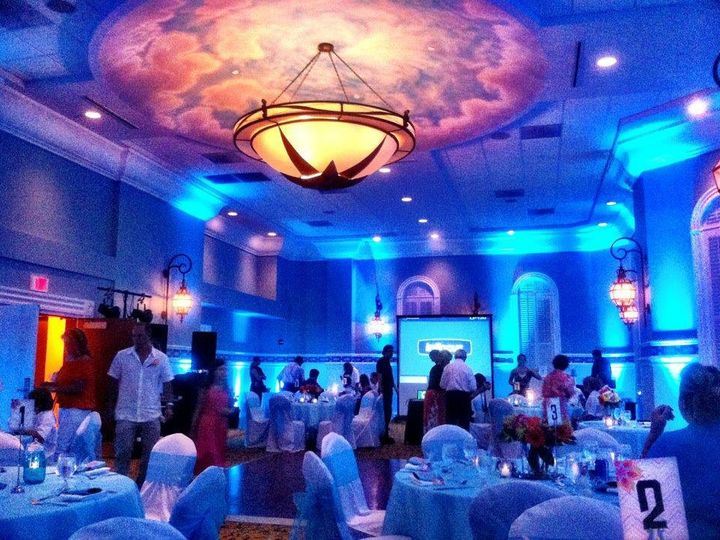 Tmx 1363380606827 LidoBallroomuplightsblue Fort Myers Beach wedding venue