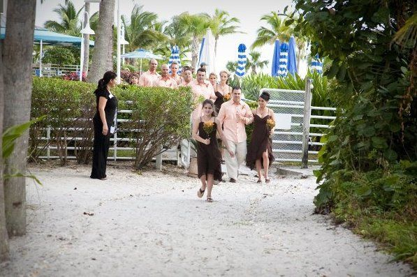 Tmx 1363380771977 ButterflygardenentrancefromSVPooldeck Fort Myers Beach wedding venue