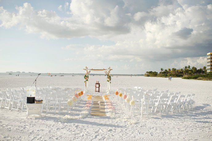 Tmx 1363381700374 CeremonyCaptivaBeachLibbysFlowersShuppahArch Fort Myers Beach wedding venue
