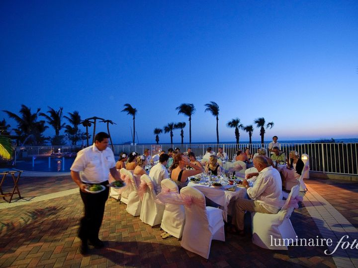 Tmx 1419967562136 Dinner Service  Captiva Courtyard Fort Myers Beach wedding venue