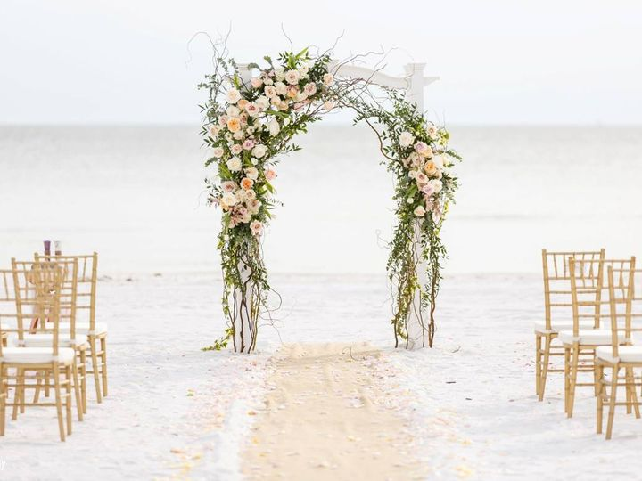 Tmx 1476193687508 Floral Artsry Arch Fort Myers Beach wedding venue