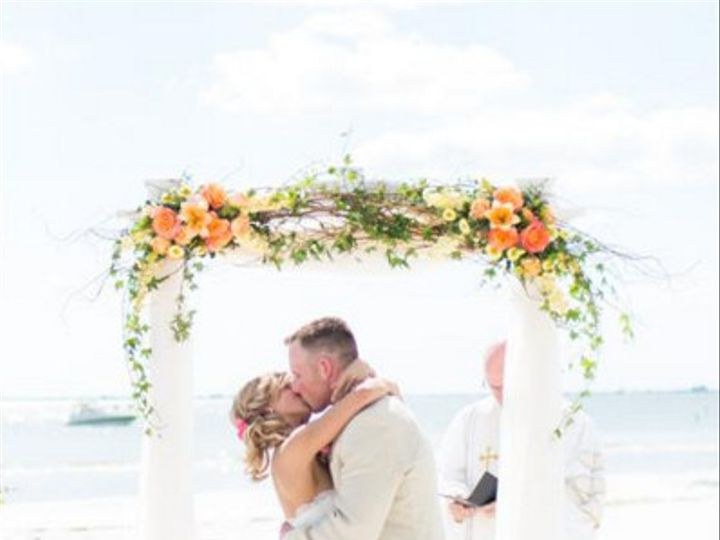 Tmx 1476195354752 White Arch Fort Myers Beach wedding venue