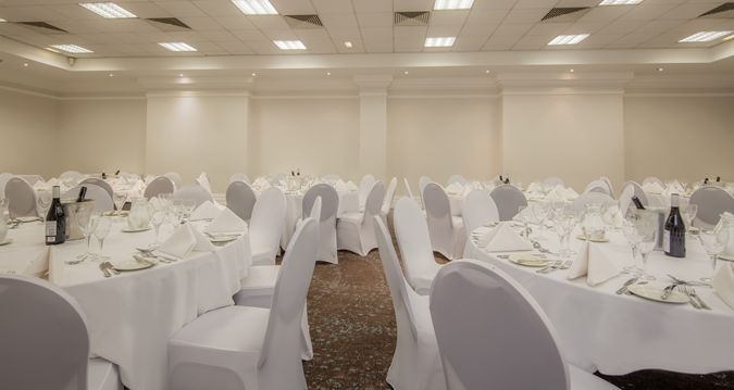 Wedding Space at Hilton Nottingham