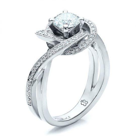 Interlacing ring