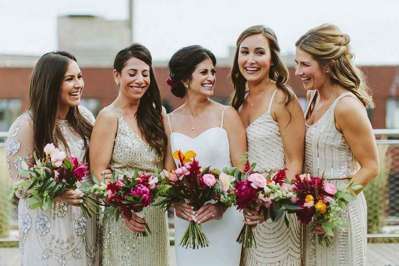 chicago morgans on fulton rooftop wedding 2 51 208515 161608837490775