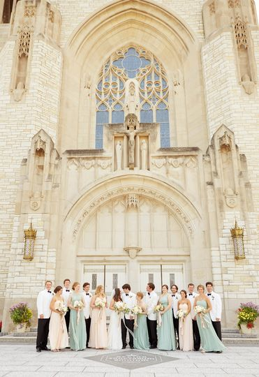 Queen of all Saints Basilica Wedding | Chicago IL