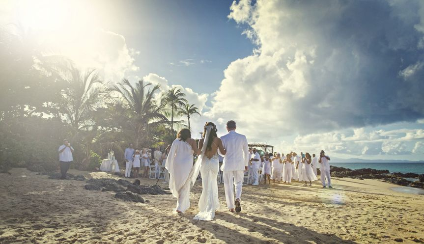 Vieques Beach Wedding by E. P. Anderson Photography