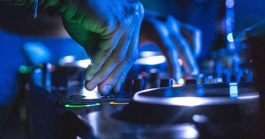 Your DJ on decks