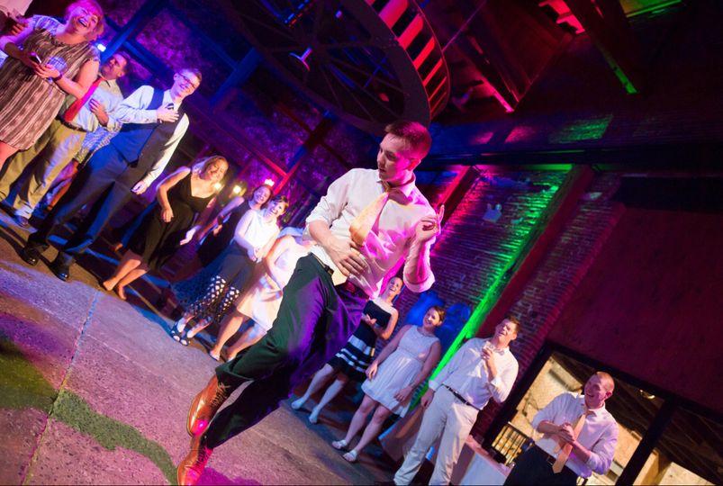 Lobby Reception dancing