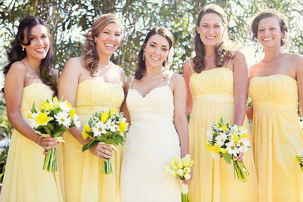Tmx 1310069364829 Yellow.bride.bridesmaids New Smyrna Beach, Florida wedding florist