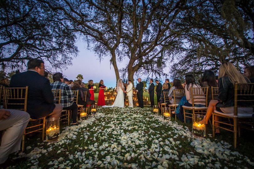 Tree Covered Ceremony (Upgraded Ceremony Location)