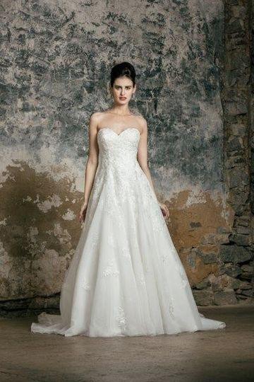 Crisp white dresses