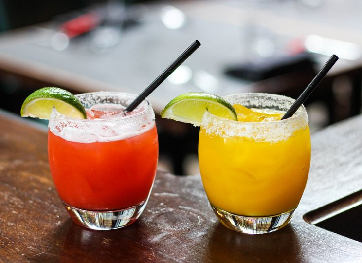 Hand-crafted margaritas