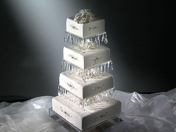 Tmx 1346173460267 Crystal1 North Tonawanda, New York wedding cake