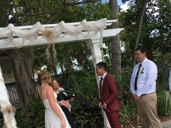 Tmx 1521997221 9714eaa24da811af 1521997218 3690c12d276c0764 1521997194075 6 Kristin   Anthony Daytona Beach, FL wedding officiant