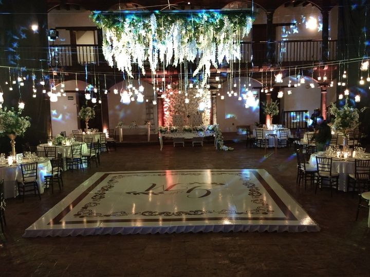 Indoor lighting for dance floor