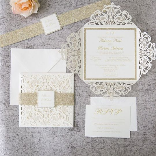 Lacey invitations