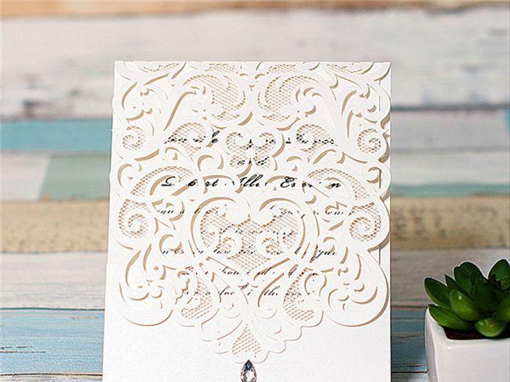 Tmx 1448046383098 Wpl0074 West Bloomfield, Michigan wedding invitation