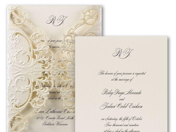 Tmx 1453773706563 3150fvn38821zm 2 West Bloomfield, Michigan wedding invitation