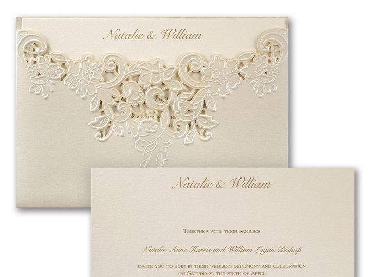 Tmx 1453773727457 3150fvn39341zm 2 West Bloomfield, Michigan wedding invitation