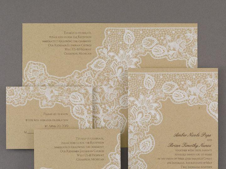 Tmx 1453773974606 3159vz30705zm West Bloomfield, Michigan wedding invitation