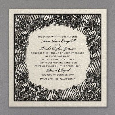 Tmx 1453774020909 3214mm39413esmn West Bloomfield, Michigan wedding invitation