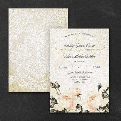 Tmx 1453774364963 3285rz38794lb2mn West Bloomfield, Michigan wedding invitation