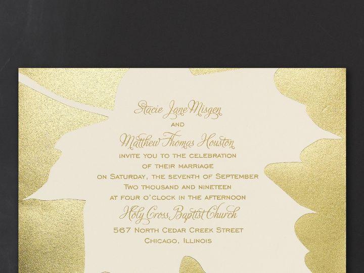 Tmx 1453774562200 3214mm13591zm West Bloomfield, Michigan wedding invitation