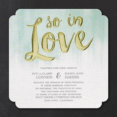 Tmx 1453774570500 3214mm13776mn West Bloomfield, Michigan wedding invitation