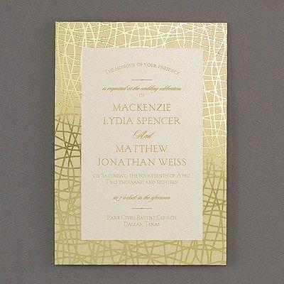Tmx 1453774584335 3285rzn38520fl3mn West Bloomfield, Michigan wedding invitation