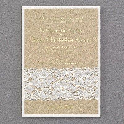 Tmx 1453775009843 3148ken4180mn West Bloomfield, Michigan wedding invitation