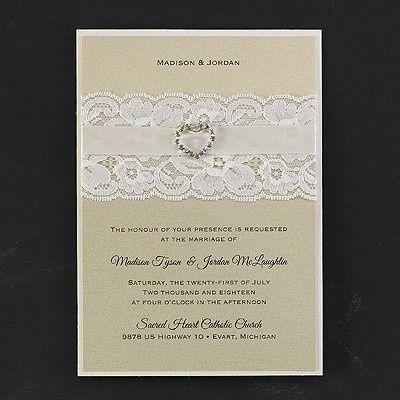 Tmx 1453775014210 3150fvn5235mn West Bloomfield, Michigan wedding invitation