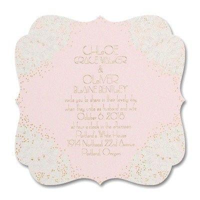 Tmx 1453775211943 3283ll36010eczm West Bloomfield, Michigan wedding invitation