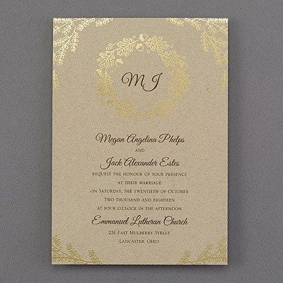 Tmx 1453775697015 3148ke13462mn West Bloomfield, Michigan wedding invitation