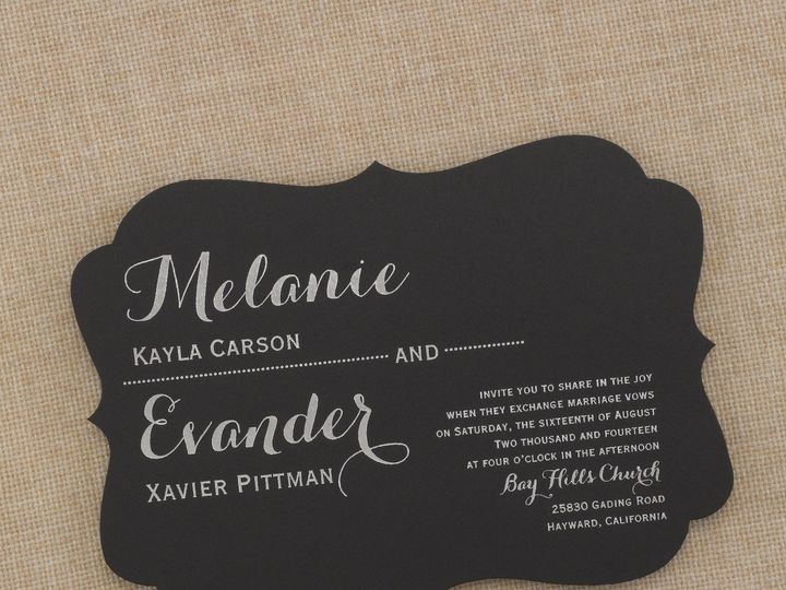 Tmx 1453775706168 3149rr81917nhbzm West Bloomfield, Michigan wedding invitation