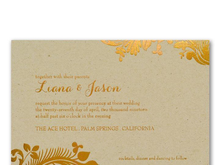 Tmx 1453775721935 3214mm39329krzm West Bloomfield, Michigan wedding invitation