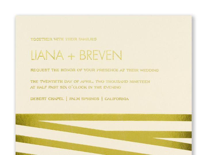 Tmx 1453775734566 3214mm39414eczm West Bloomfield, Michigan wedding invitation