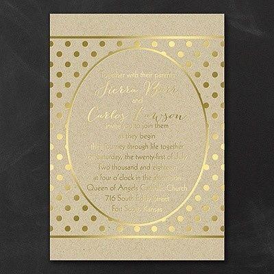 Tmx 1453775752654 3254tws35016gdmn West Bloomfield, Michigan wedding invitation