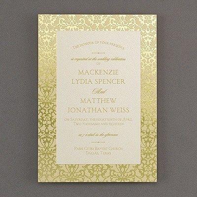 Tmx 1453775772409 3285rzn38520fl1mn West Bloomfield, Michigan wedding invitation