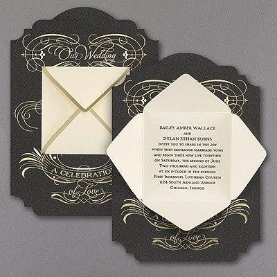 Tmx 1453775777410 3285rzn38781mn West Bloomfield, Michigan wedding invitation