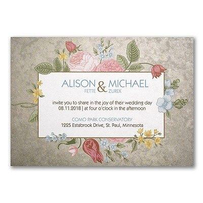 Tmx 1453776164922 3254tws38806mn West Bloomfield, Michigan wedding invitation